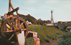 Pennsylvania Lancaster Amish Water Wheel On Amish Farm