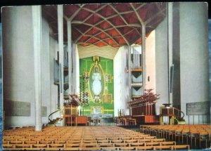 England Coventry Cathedral Nave and Chancel - unposted