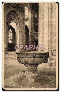 Old Postcard Bourg Eglise de Brou The Beoitier