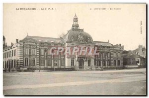Old Postcard Normandy Louviers Le Musee