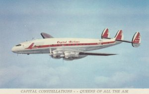 CAPITAL Airlines Constellation airplane inflight 50-60s