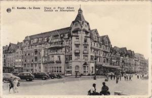 KNOCKE-ZOUTE , Belgium , 1930-40s : Digne et Place Albert