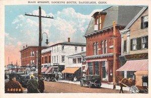 Danielson Connecticut Main Street Looking South Vintage Postcard JJ658815