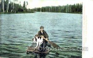 Ontario Grand Trunk Railroad,  Sports, Gun, Rifle, Hunting Postcard Postcards...