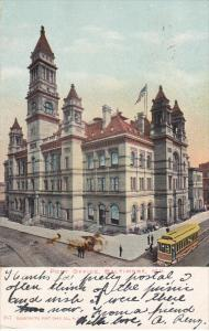 BALTIMORE, Maryland, PU-1907; Post Office, Cable Car