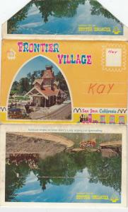 SAN JOSE, CA, 1950-60s ; Frontier Village Amusement Park