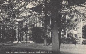 GREENSBORO, North Carolina, 00-10s; Pfeiffer Hall, Bennet College