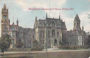 Exterior, University of Penna, College Hall, Philadelphia, Pennsylvania, PU_1911