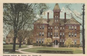 ST. THOMAS , Ontario , Canada , PU-1949 ; Collegiate Institute