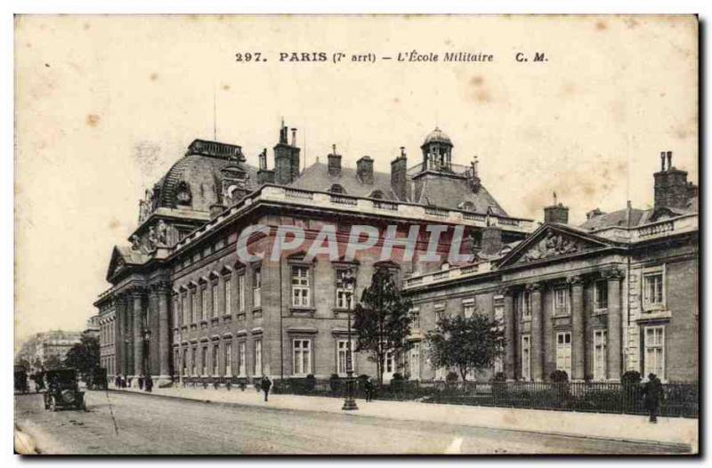 Paris - 7 - L & # 39Ecole Military - Old Postcard