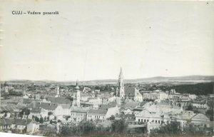 Romania RPR Postcard Cluj-Napoca panoramic view