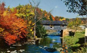 VT - Johnson. Covered Bridge