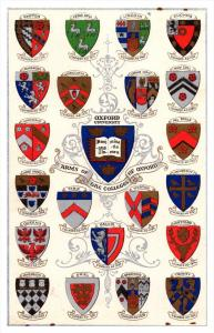 11201   Arms of  Oxford University