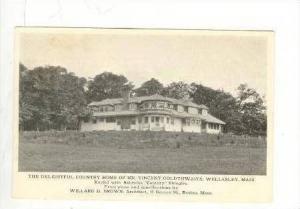 Country Home Of Mr.Vincent Goldthwaite,Wellesley,Massachusetts,1912