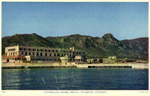 cyprus, KYRENIA, Catsellis Dome Hotel (1960s) Tuck