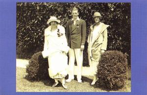 Nostalgia Postcard 1924 Lady Spencer Tennis Tournament, Fashion, Repro Card NS7