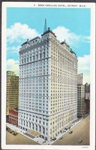 Detroit MI -  Book Cadillac Hotel on Michigan Avenue, 1920s