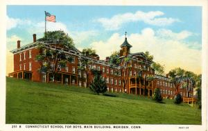 CT - Meriden. Connecticut School for Boys, Main Building