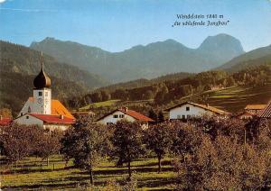 Bad Feilnbach Wendelstein die schlafende Jungfrau Kirche Church