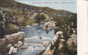 Switzerland Elisaquelle Elisa's Fountain