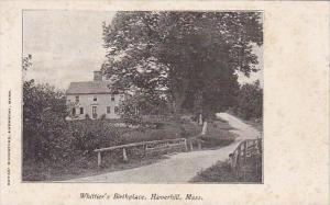 Whittier Birthplace Haverhill Massachusetts