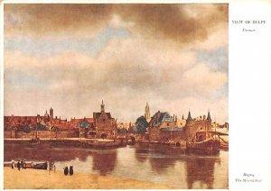 Vermer Delft Holland Unused