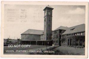 Union RR Station, Portland Or
