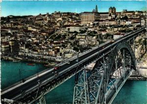 CPM Porto Pont D.Luiz et une vue du quai de Ribeira PORTUGAL (750668)