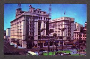CA The U S Grant Hotel SAN DIEGO CALIFORNIA Postcard PC