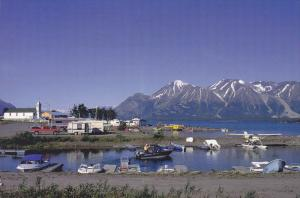 Boats, Float Plane, Harbour at Mount Atlin, British Columbia, Canada, PU-1998