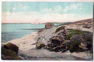 Wharf Point, Willard Beach, Willard ME
