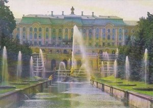 Russia Petroverts Great Palace Canal & Water Avenue