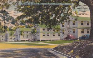 BILOXI, Mississippi, 30-40s; Officer's Barracks at Keesler Field