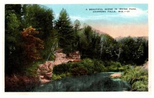 Wisconsin Chippewa Falls , Irvine Park