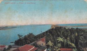 Port Said , Egypt , View of the Canal , 00-10s