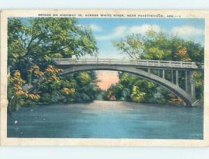 Linen BRIDGE SCENE Fayetteville Arkansas AR H8775