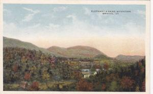 Elephant's Head Mountain, Bristol, Vermont, 1910-1920s