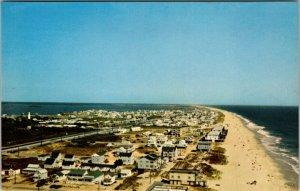 Aerial View Fenwick Island Delaware Postcard