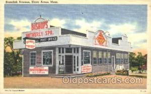 Bishop's Ice Cream, Shore Acres, MA, USA Store Fronts and Store Interiors, Po...