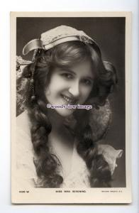 b5909 - Stage Actress - Nina Sevening in Stage Costume, No.1535 W - postcard