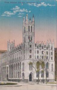 New York Syracuse First Baptist Church 1914