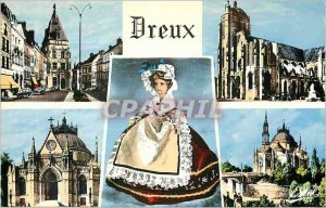 Modern Postcard Dreux (Eure et Loir) Belfry Church of Saint Pierre