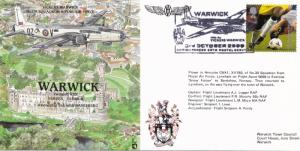 Warwick Vickers WW2 Aircraft Historic Flight Plane First Day Cover