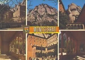 POSTAL 57350: Montserrat diversos aspectos