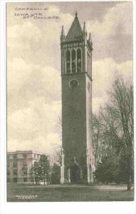 Campanile, Iowa State College, AMES, Iowa, 1910s
