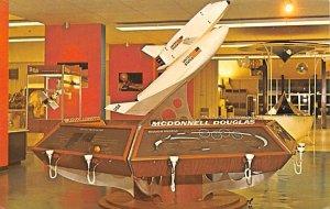 Model space shuttle on display Florida, USA Space Unused