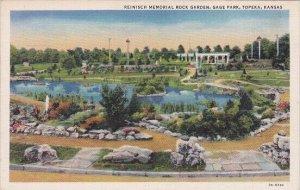 Reinisch Memorial Rock Garden Gage Park Topeka Kansas