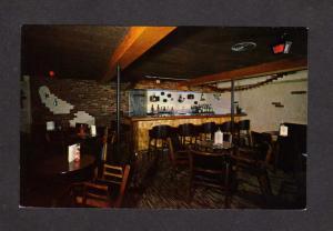 QC Le Martinet La Pocatiere Bar Restaurant Quebec Canada Postcard Carte Postale