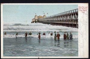 California LONG BEACH New Pier and Sun Pavilion - pm1905 - Und/B Vintage
