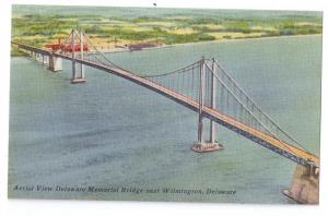 Delaware Memorial Bridge Aerial View Wilmington DE